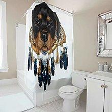 Gamoii Rottweiler Animal Dream Catcher Shower