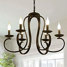 Ganeed 6 Lights Chandeliers,French Country Vintage