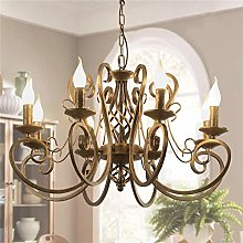 Ganeed Chandeliers,8 Lights French Country Pendant
