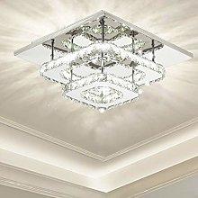 Ganeed Crystal Ceiling Light,Modern Flush Mount