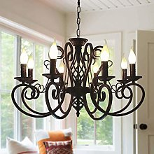 Ganeed French Country Chandeliers,8 Lights Kitchen
