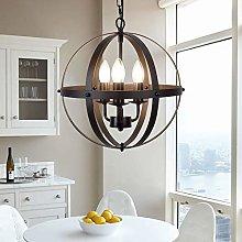 Ganeed Pendant Light,Industrial Globe Pendant