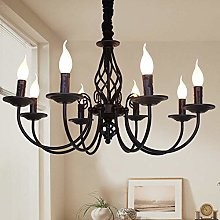 Ganeed Rustic Chandelier,8 Lights French Country