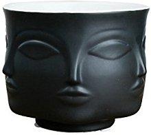 Ganeep White Nordic Ceramic Plant Pots Creative