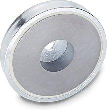 Ganter Normelemente GN 50.4-HF-80 Magnetic Clamp