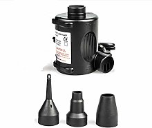 Ganvol UK AC Electric Air Pump with 3 Nozzles for