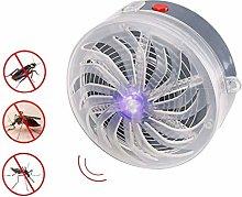 Gaocunh Solar Powered Buzz UV Lamp Light Fly