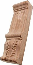 Gaodpz Vintage Wood Carved Decal Corner Applique