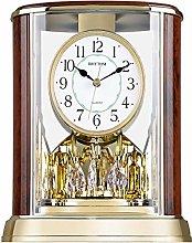 Gaojian European style Mantel Clock, Crystals Tone