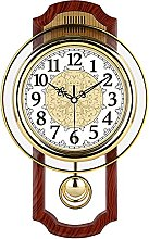 Gaojian European Wall Clock, Pendulum Wall Clock