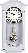 Gaojian Pendulum Wall Clock,Elegant,Painted