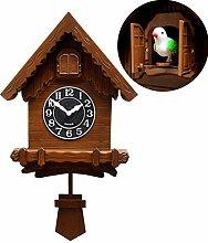 GAOJIN Wall Clock - Modern Version Bird Song