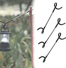 Gaolamber S-shaped tent light hook,Multifunctional