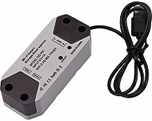Gaoominy 1 Pcs Black WiFi Smart Switch Car Garage