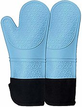 Gaoominy 2 Silicone Gloves, Extended Non-Slip