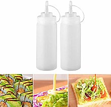 Gaosheng 2 pcs 12oz 360ml Squeeze Condiment Bottle