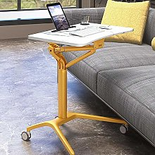 GAOXQ Carbon Steel Frame Folding Laptop Table with