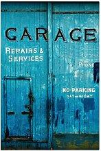 Garage Door Photographic Print on Canvas East