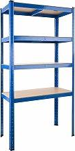 Garage shelving unit 4 tier heavy duty - metal