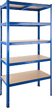 Garage shelving unit 5 tier - 265 kg