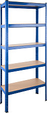 Garage shelving unit 5 tier - 70 kg