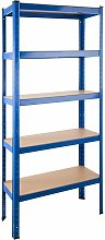 Garage shelving unit 5 tier - metal shelving,