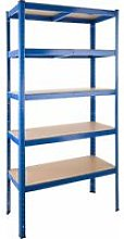 Garage shelving unit 5 tier - metal shelving,