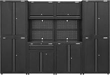 Garage Storage System 10pc - Sealey