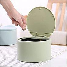 Garbage Bin for Kitchen Small Desktop Creative