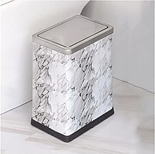 Garbage Bin for Kitchen Trash Can With Lid