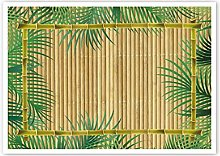 Garcia de Pou Table Mats Offset Palms, Litos,
