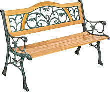 Garden bench Kathi - brown
