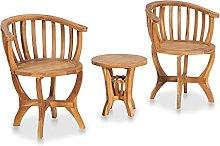 Garden Bistro Set, Outdoor Bistro Table Wooden