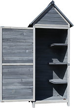Garden Cabinet/ Tool Shed made of Wood,