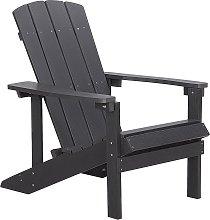 Garden Chair Dark Grey ADIRONDACK