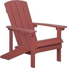 Garden Chair Red ADIRONDACK