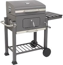 Garden Charcoal Grill Square Oven Outdoor Charcoal