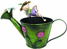 Garden Decoration Figurine Fairy with Pot Planter
