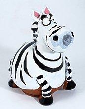 Garden decoration Zebra handmade ceramic Midene