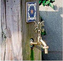 Garden Faucet Washing Machine Decoration Garden