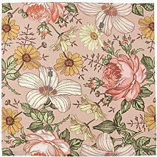 Garden Floral Swaddle (Rose Pink) - Mini Scout