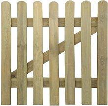 Garden Gate FSC Wood 100x100 cm - Hommoo