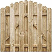 Garden Gate, Wood Swing Gate Outdoor Fence Gate