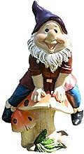 Garden Gnome Fairy Mini Gnome Statue Miniature