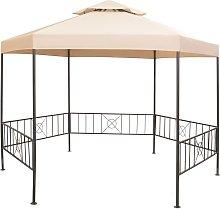 Garden Marquee Gazebo Pavilion Tent Hexagonal