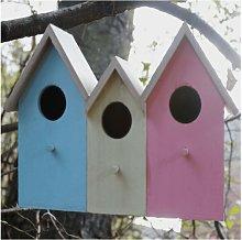 Garden Mile - 3 In 1 Wooden Garden Bird House