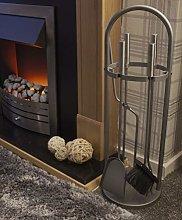 Garden Mile® 5PC Arched Fireside Tool Set Vintage