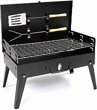 Garden Mile Black Iron Charcoal BBQ Grill with