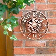 Garden Mile® Large 30cm Vintage Open Face Bronze