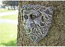 Garden Mile - Resin Tree Peeker Mounted Garden
